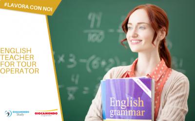 English Teacher for a Tour Operator